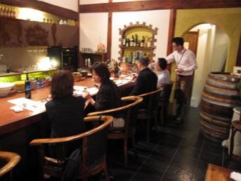 イタリアワインを中心とした輸入業者さんを交えてのワイン会