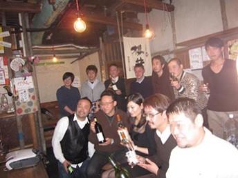 日本のワイン醸造家を招いてのワイン会